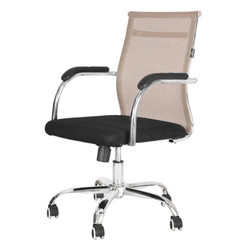 White Jaali Ergonomical Chair