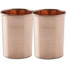 Plain Copper Glass