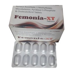 Ferrous Ascorbate L Methylfolate Tablets