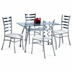 Polished Steel Chair, For Restaurant
