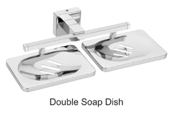 Steelwood Stainless Steel Double Soap Dish