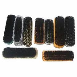 Black Shoes Polish Brush