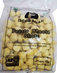 Iscon Balaji Potato Cheese Shots Ball (100pc) 1kg