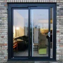 Aluminum( Frame Materiel) Sliding Interior Aluminum Glass Door