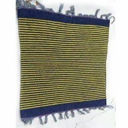 Multicolor Shree Laxmi Handloom Cotton Carpets, Size: 20x20 inch