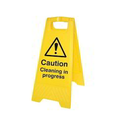 HDPE Caution Board
