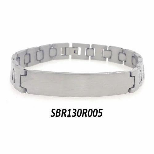 Mens Silver Plated Bracelet
