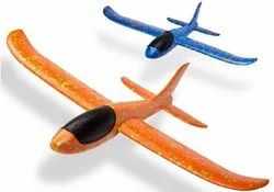 Sanchi Creation Elite Large Size 19 inch Foam Glider Airplane / Manual Throwing Fun Toy With Light
