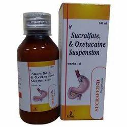 Each 10ml Contains: Sucralfate 1gm,Oxetacaine With Mono Carton