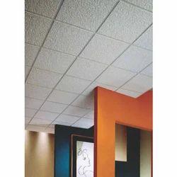 Fiber Glasswool Acoustic False Ceiling Tiles