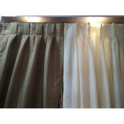 Cotton Plain Designer Curtain