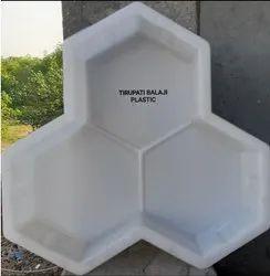 Trihex Plastic Paver Mould