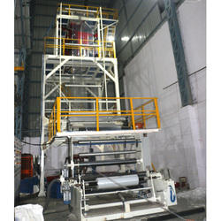 Three Layer Blown Film Extruder Plant