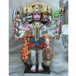 Panch Mukhi Hanuman Statue