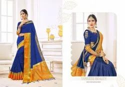Kanjivaram Silk Saree With Blouse