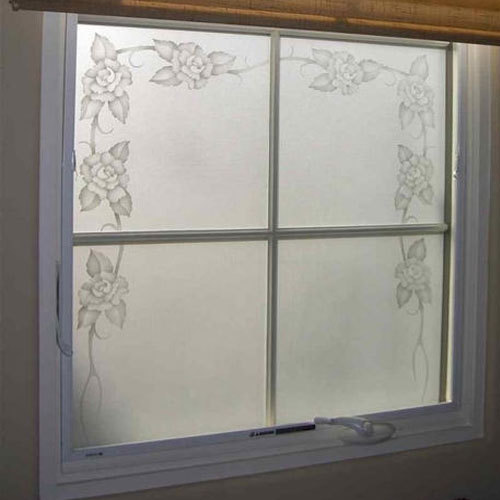 frosted glass window exterior frosted glass window sizedimension feet feet rs 350 square