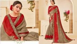 Dot Exports Casual Wear New Collection Designer Saree