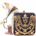 Sparkle Box Clutch Bag