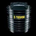 Black Kaveri E Triveni Cylindrical Water Storage Tank