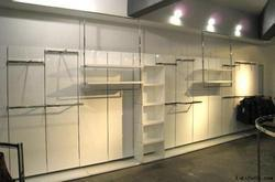 Clothes Display Fixture and Rack