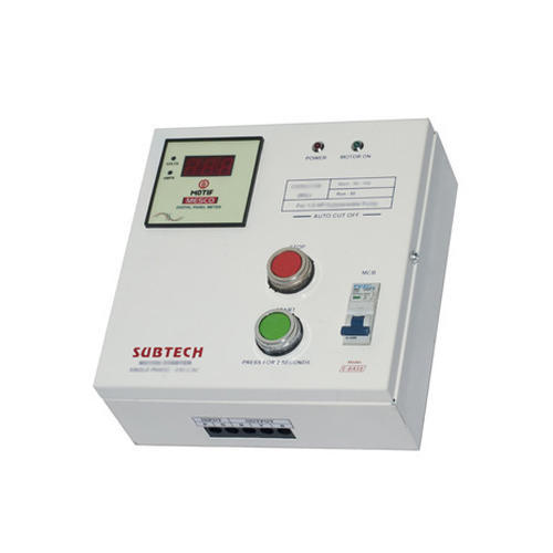 1.5 HP Single Phase Digital Control Panel, Rating: IP54