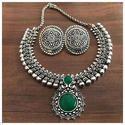 Ladies Brass Fashionable Imitation Necklace Set