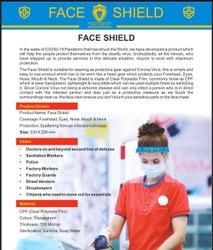 Covid 19 protecter Face Shield