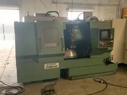 Used & Old Machine  -  Deawoo Puma 12 CNC Turning Lathe In Usa Stock Available