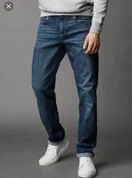 Blue Regular Fit Jeans, Waist Size: 28