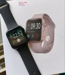 Black Rectangular Apple Series 5 (44 Mm Watch ) for Formal
