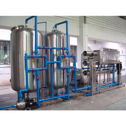 Salt Water Treatment Plant