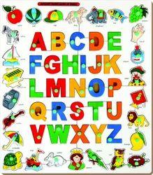 Alphabets Object Match Up Puzzle