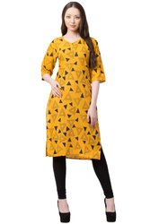 VFLK-41Daily Wear Printed Kurti in Jaipuri Print