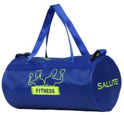 Printed Salute Basic Gym Bag