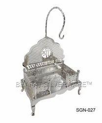 Pure Silver Shri Singhasan