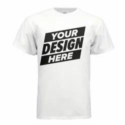 Round Neck T Shirt Printing Service