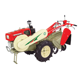 Lawn Mower with Power Tiller
