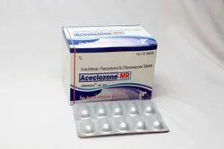 Aceclozone-mr Pain Relief Drug