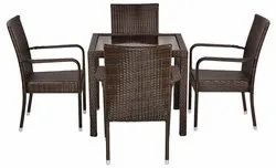 Universal Furniture Brown Table with 4 Chairs