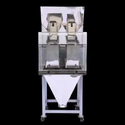 2 head Linear Multi Weigher Machine-