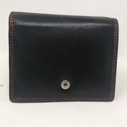 Leather Black Gents Wallet