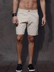 Cotton Cream Men's Shorts