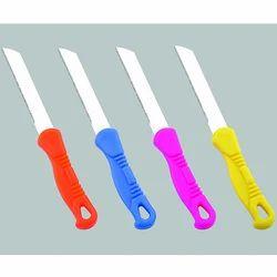 Straight Blade Plastic Handle Knife