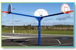 SNS811 Two Side Basketball Pole