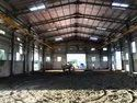 Warehouse Shed Construction Work