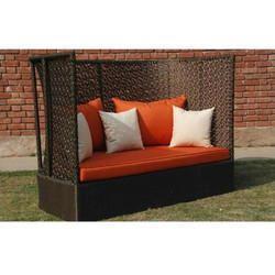 Stylish Outdoor Wicker Sofa