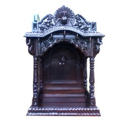 Handcrafted Wooden Temple