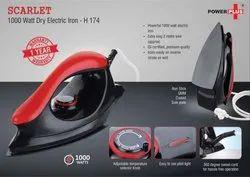 Electric Iron-1000 Watt with 1 Year Warranty