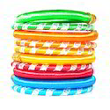 Colourful Party Wear Silk Thread Bangles Set