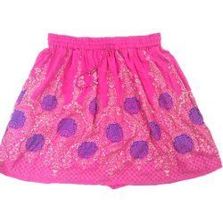Ladies Printed Short Skirt
